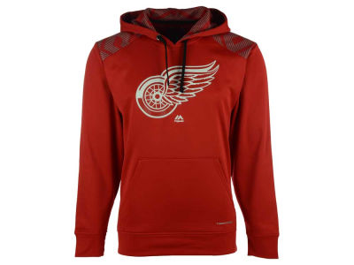 Detroit Red Wings Majestic NHL Men's Armour Synthetic Fleece Hoodie