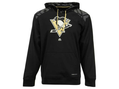 Pittsburgh Penguins Majestic NHL Men's Armour Synthetic Fleece Hoodie