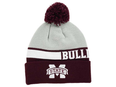 Mississippi State Bulldogs adidas NCAA Player Cuffed Pom Knit