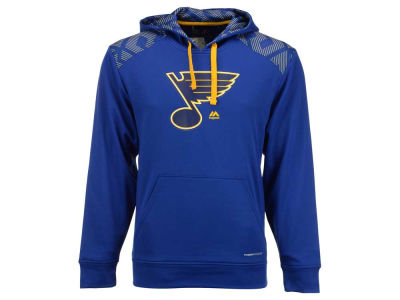 St. Louis Blues Majestic NHL Men's Armour Synthetic Fleece Hoodie