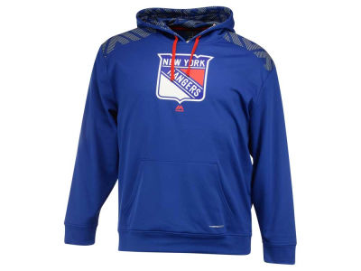 New York Rangers Majestic NHL Men's Armour Synthetic Fleece Hoodie