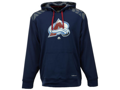 Colorado Avalanche Majestic NHL Men's Armour Synthetic Fleece Hoodie