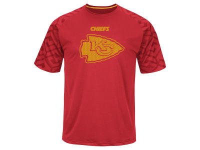 Kansas City Chiefs Majestic NFL Men's Skill In Motion Synthetic T-Shirt