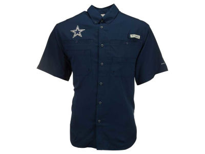 Dallas Cowboys Columbia NFL Men's Tamiami II Button Up Shirt