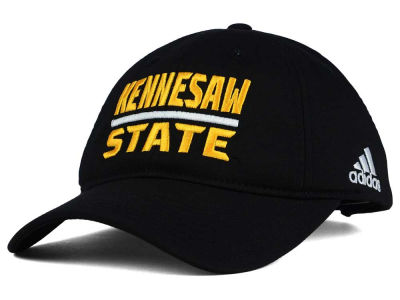 Kennesaw State Owls adidas NCAA Travel Adjustable Slouch Cap