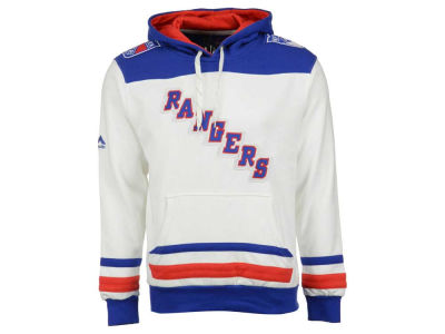 New York Rangers Majestic NHL Men's Double Minor Fleece Hoodie