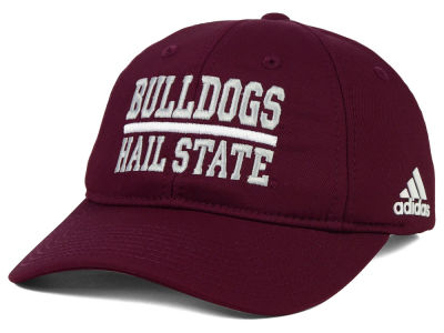 Mississippi State Bulldogs adidas NCAA Travel Adjustable Slouch Cap