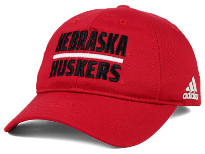 Nebraska Cornhuskers adidas NCAA Travel Adjustable Slouch Cap