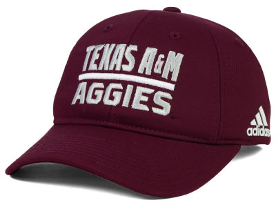 Texas A&M Aggies adidas NCAA Travel Adjustable Slouch Cap