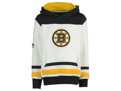 Boston Bruins Majestic NHL Youth Double Minor Fleece Hoodie