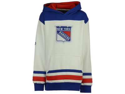 New York Rangers Majestic NHL Youth Double Minor Fleece Hoodie
