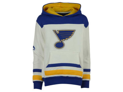 St. Louis Blues Majestic NHL Youth Double Minor Fleece Hoodie