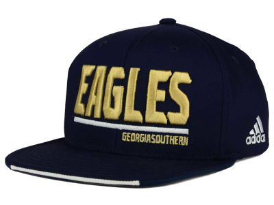 Georgia Southern Eagles adidas NCAA Travel Flat Brim Snapback Cap