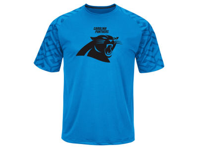 Carolina Panthers Majestic NFL Men's Skill In Motion Synthetic T-Shirt