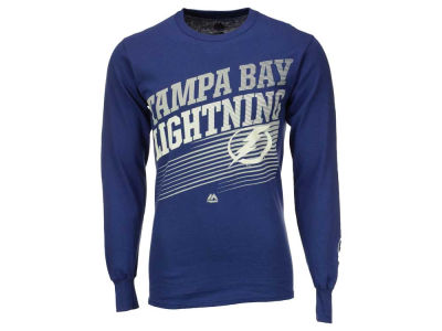 Tampa Bay Lightning Majestic NHL Men's Building Strategy Long Sleeve T-Shirt