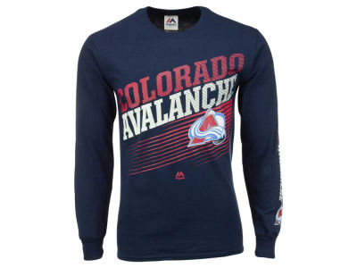 Colorado Avalanche Majestic NHL Men's Building Strategy Long Sleeve T-Shirt