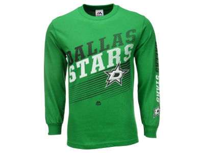 Dallas Stars Majestic NHL Men's Building Strategy Long Sleeve T-Shirt