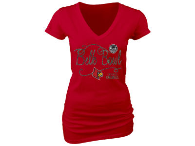 Louisville Cardinals Blue 84 NCAA Women's Juniors Bowl Bound Likely T-Shirt