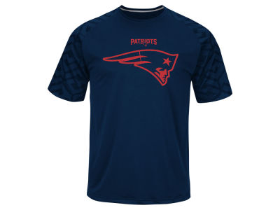 New England Patriots Majestic NFL Men's Skill In Motion Synthetic T-Shirt