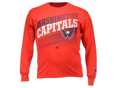 Washington Capitals Majestic NHL Men's Building Strategy Long Sleeve T-Shirt