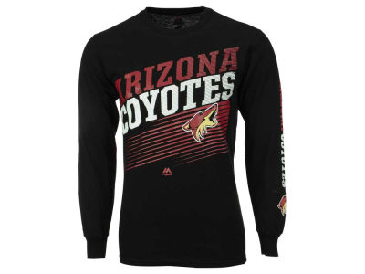 Arizona Coyotes Majestic NHL Men's Building Strategy Long Sleeve T-Shirt