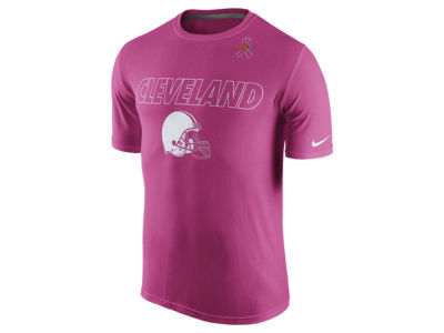 Cleveland Browns Nike NFL Men's Breast Cancer Awareness Legend T-Shirt
