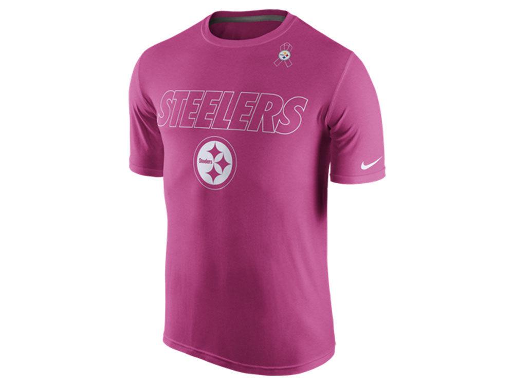 Pittsburgh Steelers Nike NFL Men s Breast Cancer Awareness Legend T-Shirt  d12f84c5f
