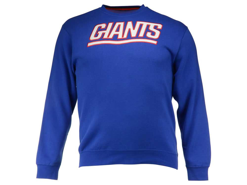 c24f5c845 New York Giants Majestic NFL Men s Winning Field Goal Crew Neck Sweatshirt