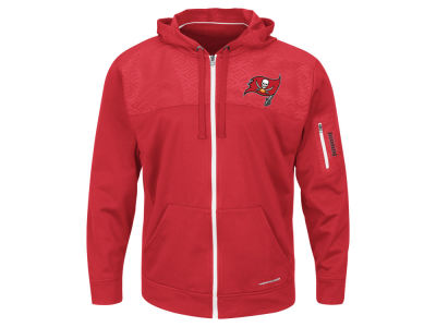 Tampa Bay Buccaneers '47 NFL Men's Ready For Action Full Zip Hoodie