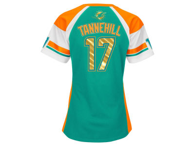 Miami Dolphins Ryan Tannehill NFL Women's Draft Him T-Shirt