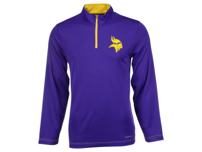 Minnesota Vikings Majestic NFL Men's Ready & Willing 1/4 Zip Pullover
