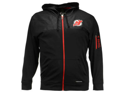 New Jersey Devils Majestic NHL Men's Ready For Action Full-Zip Hoodie