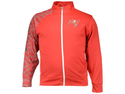 Tampa Bay Buccaneers Majestic NFL Men's Aggressive Moves Full Zip Jacket