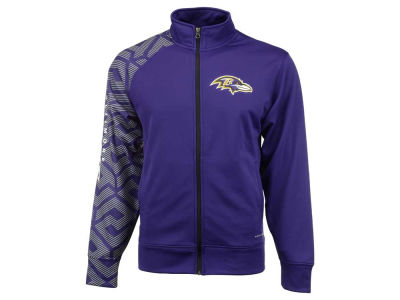 Baltimore Ravens Majestic NFL Men's Aggressive Moves Full Zip Jacket