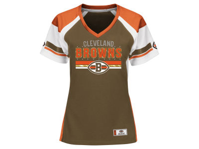 Cleveland Browns Majestic NFL Women's Draft Me T-Shirt