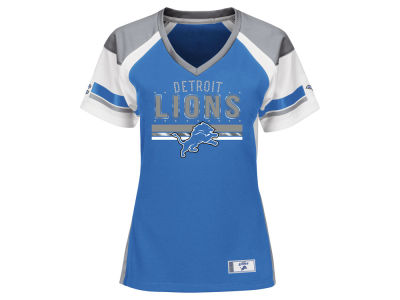 Detroit Lions Majestic NFL Women's Draft Me T-Shirt