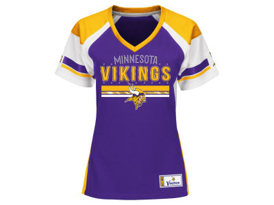 Minnesota Vikings Majestic NFL Women's Draft Me T-Shirt