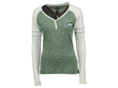 New York Jets Majestic NFL Women's Lead Play Long Sleeve T-Shirt