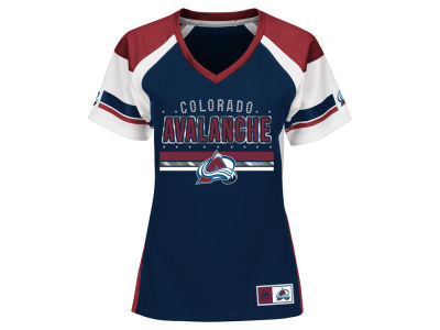 Colorado Avalanche Majestic NHL Women's Ready to Win Shimmer Jersey