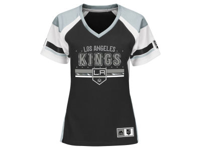 Los Angeles Kings Majestic NHL Women's Ready to Win Shimmer Jersey