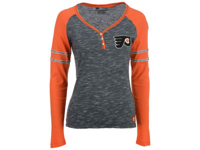 Philadelphia Flyers Majestic NHL Women's Pure Fury Long Sleeve T-Shirt