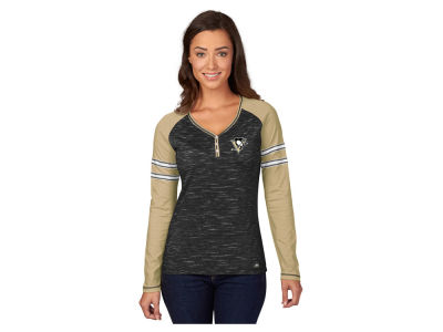 Pittsburgh Penguins Majestic NHL Women's Pure Fury Long Sleeve T-Shirt