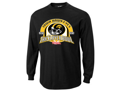 Iowa Hawkeyes Blue 84 2014 NCAA Bowl Bound Jins Long Sleeve T-Shirt