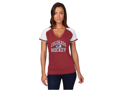 Colorado Avalanche Majestic NHL Women's Backup Plan T-Shirt