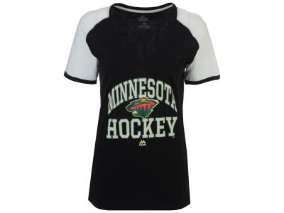Minnesota Wild Majestic NHL Women's Backup Plan T-Shirt
