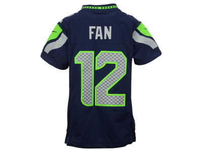 Seattle Seahawks Fan #12 Nike NFL Youth Limited Jersey