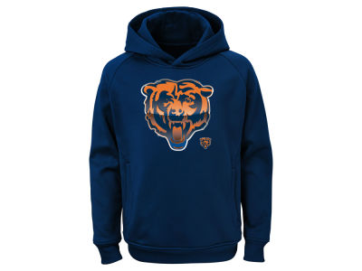 Chicago Bears Outerstuff NFL Youth Chrome Performance Hoodie