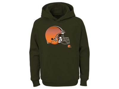 Cleveland Browns Outerstuff NFL Youth Chrome Performance Hoodie