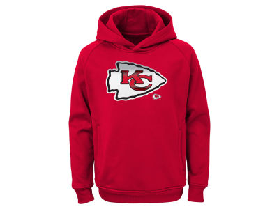 Kansas City Chiefs Outerstuff NFL Youth Chrome Performance Hoodie