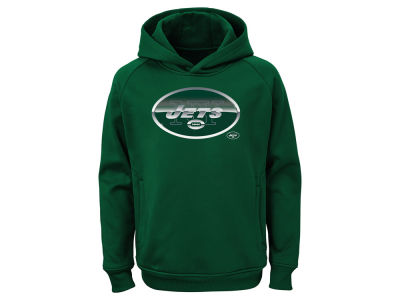 New York Jets Outerstuff NFL Youth Chrome Performance Hoodie